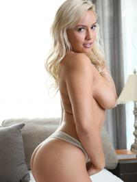 Busty Blonde Kylie